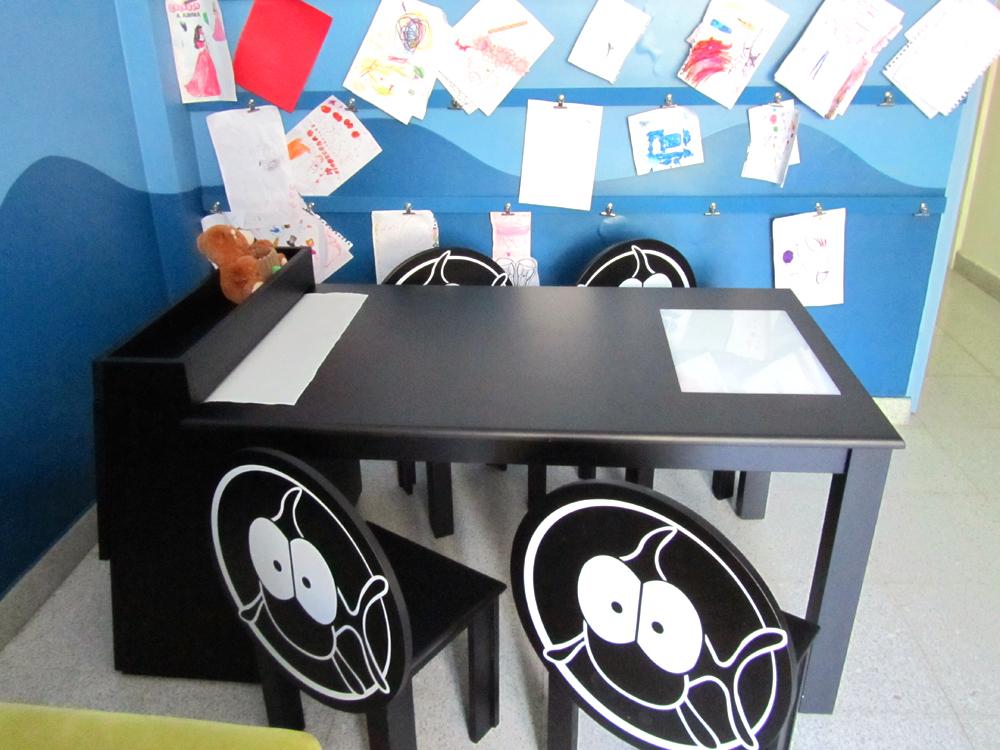 Hogar - Playroom - Mesas de arte
